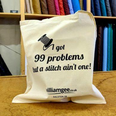 Cotton Tote Bag - William Gee UK