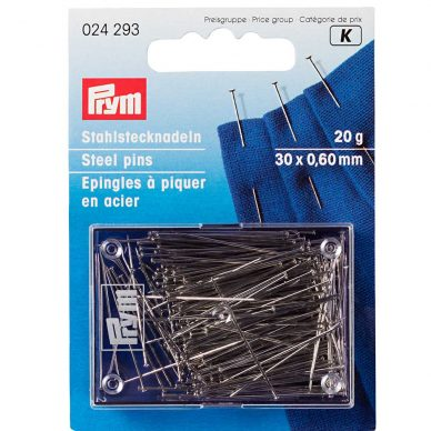 Prym Steel Pins 024293 - William Gee