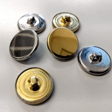 Metal Blazer Buttons in Gilt and Silver - William Gee UK