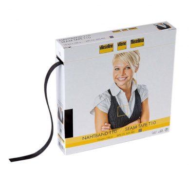 Vilene-Seam-Tape-T10-100m-charcoal-Box-William-Gee-UK