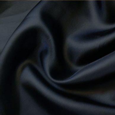 Viscose Twill Lining in colour Dark Navy - William Gee UK