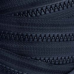 YKK Plastic Vislon Number 5 Zip Chain in Navy - William Gee