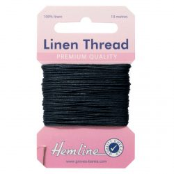 Hemline Linen Thread - Navy - William Gee UK