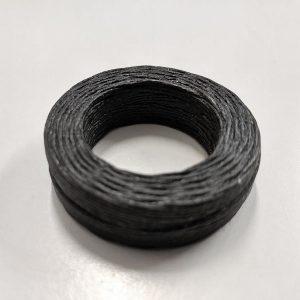 Waxed Linen Thread Black - William Gee UK
