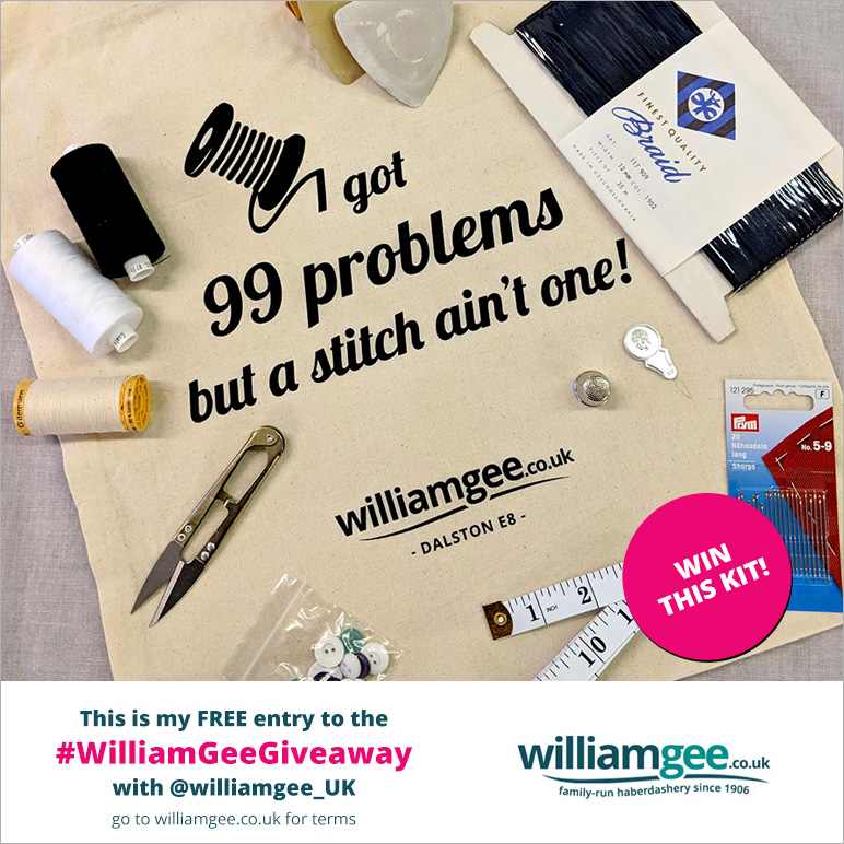 win this kit with William Gee UK