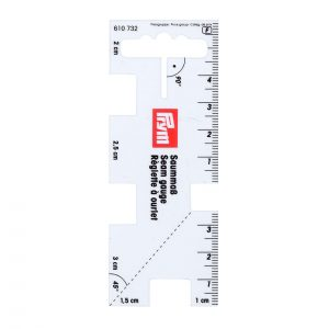 Prym Seam Gauge Transparent - 610732 - William Gee UK