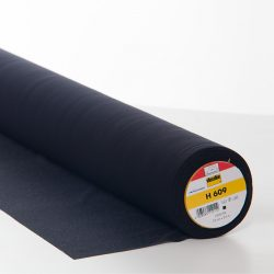 Vilene H609 Bi-Elastic Interfacing Black - William Gee UK