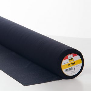Vilene H609 Bi-Elastic Interfacing Black - William Gee UK