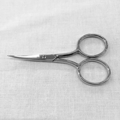 1811 BIG BOW EMBROIDERY SCISSORS 4 inch Curved - William Gee UK