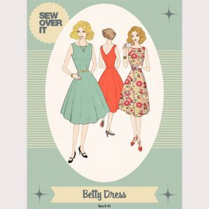 Betty Dress Pattern - William Gee UK