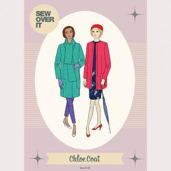 Chloe Coat Pattern - William Gee UK