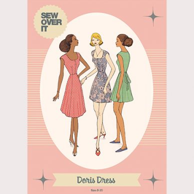 Doris Dress Pattern - William Gee UK