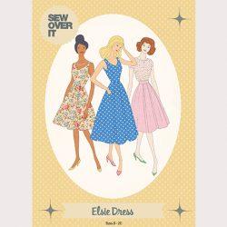 Elsie Dress Sewing Pattern - William Gee UK