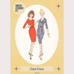 Joan Dress Pattern - William Gee UK