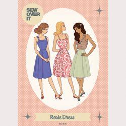 Rosie Dress Pattern - William Gee UK