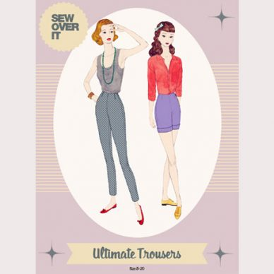 Sew Over It Ultimate Trousers - William Gee UK