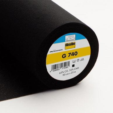 Vilene G-740 Interfacing in Black - William Gee UK