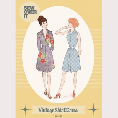 Vintage Shirt Dress Pattern - William Gee UK