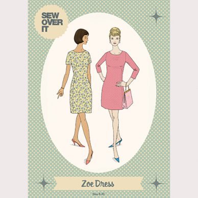 Zoe Dress Pattern - William Gee UK