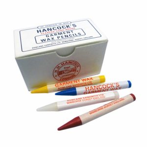 Hancocks Garnent Marking Wax Pencils - Box of pencils - William Gee UK