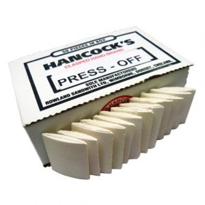 Hancocks Press Off Chalk - 50 pieces - William Gee UK
