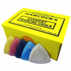 Hancocks Tailor's Marking Chalk - Box of pencils - William Gee UK