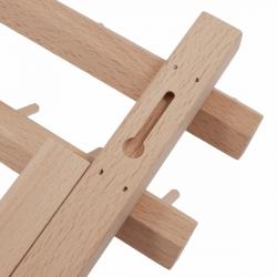 Spool Holder- Beech Wood- 120 spools closeup - William Gee UK