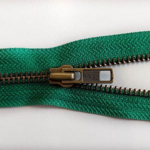 YKK Antique No.5 Zips - RGKBO56 Open Ended Green 51cm - William Gee UK