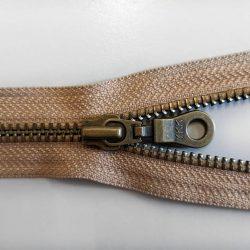 YKK-RGKBO56-No5-Open-Ended-Antique-Zip-Brass - William Gee UK
