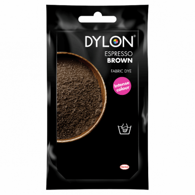 Dylon Hand Dye Espresso Brown - William Gee UK