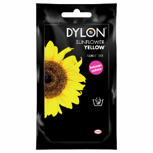 Dylon Hand Dye Sunflower Yellow - William Gee UK