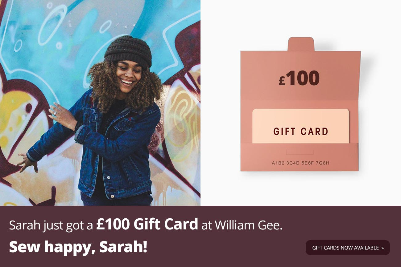 Gift Cards now available online at William Gee UK
