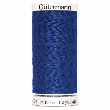 Gutermann Denim Thread Tkt 50 Blue - William Gee UK