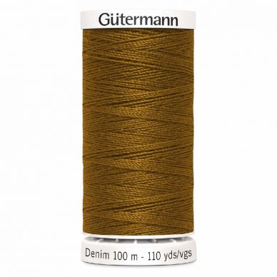 Gutermann Denim Thread Tkt 50 Dark Gold - William Gee UK