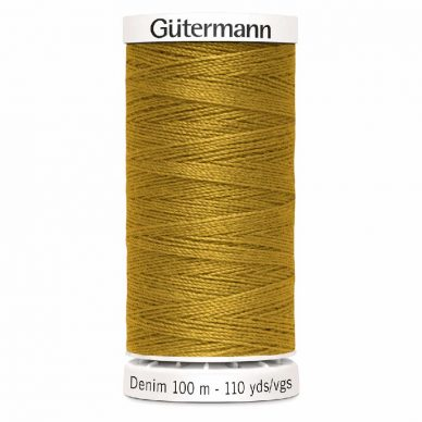 Gutermann Denim Thread Tkt 50 Gold - William Gee UK