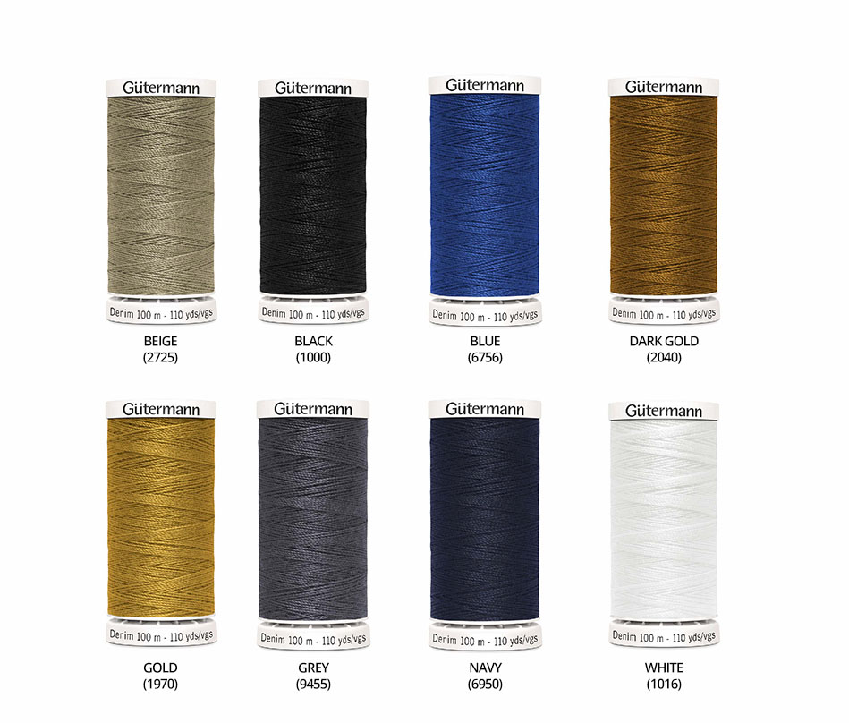 ONE REEL GUTERMANN SKALA INVISIBLE HEMMING SEWING THREAD of YOUR COLOUR CHOICE