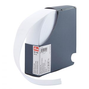 Prym Elastic 38mm White 957409- William Gee UK