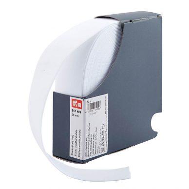 Prym Elastic 38mm White 957409- William Gee UK