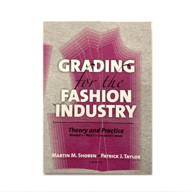 Grading for the Fashion Industry by Shoben - Front Cover - William Gee UK