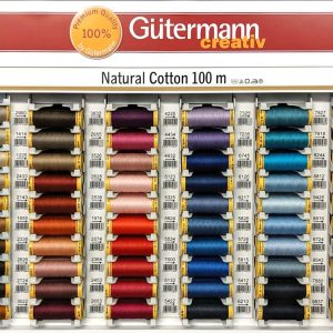 Gutermann Natural Cotton Thread - William Gee UK