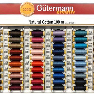 Gutermann Natural Cotton Thread - William Gee UK