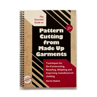 The Essential Guide to Pattern Cutting from Made Up Garments by Shoben - Front Page