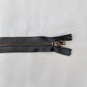 YKK Curved Trouser Zips in Grey 578 - William Gee UK