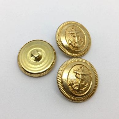 Gold Anchor Buttons - William Gee UK