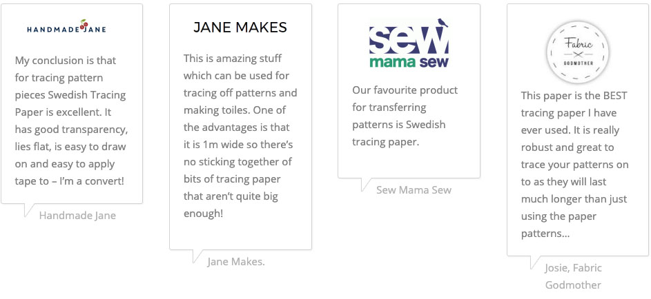 Reviews - Swedish Tracing Paper
