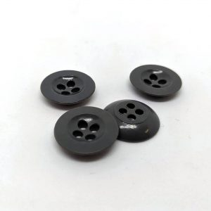 Trouser 4 hole buttons in Mid Grey - William Gee