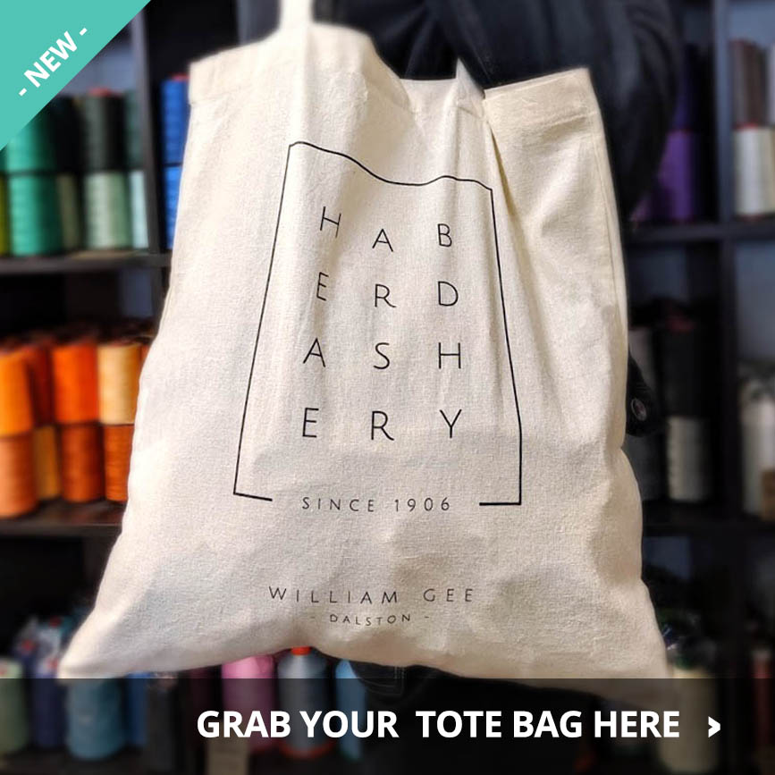 NEW! Cotton Tote Bags for sale at William Gee