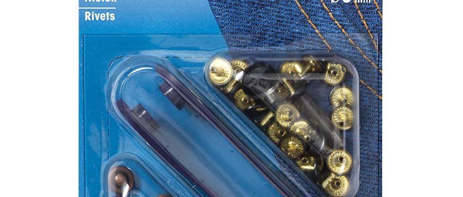 Prym Rivets 9mm Old Copper 403102 - William Gee UK