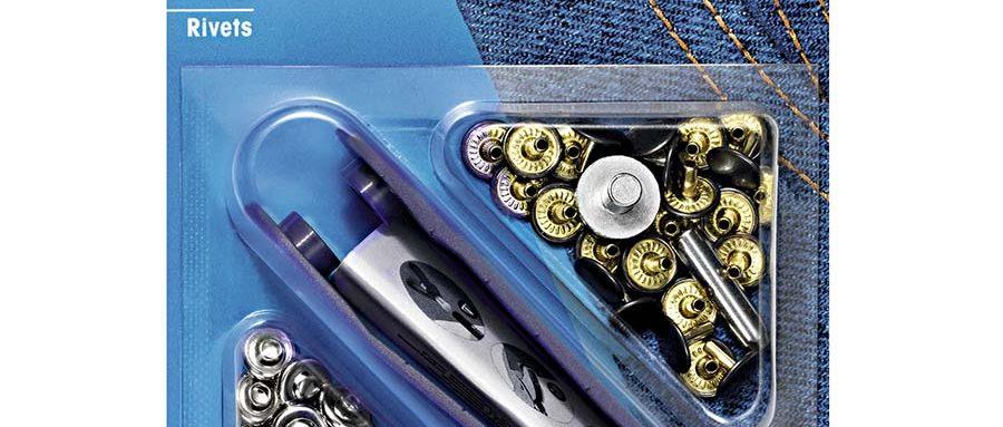 Prym Rivets 9mm Silver 403101 - William Gee UK