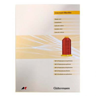 Gutermann Maraflex Shadecard - William Gee UK